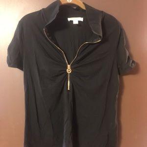Short sleeve Michael Kors black top